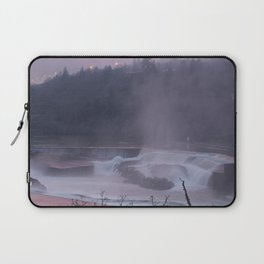 Willamette Falls at Sunset Laptop Sleeve