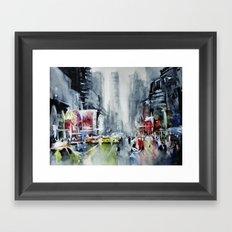 New York - New York Framed Art Print