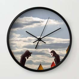 The Question Wall Clock