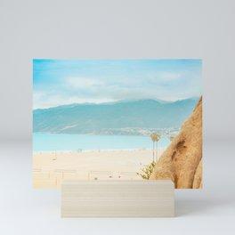 Beach Bluffs Mini Art Print