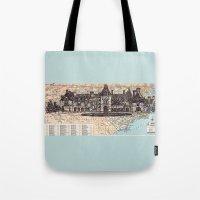 north carolina Tote Bags featuring North Carolina by Ursula Rodgers