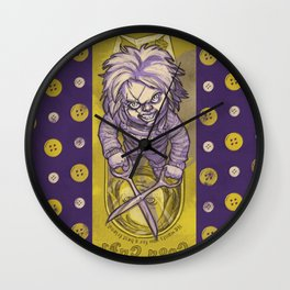 I'm Chucky, and I'm your friend till the END! Wall Clock