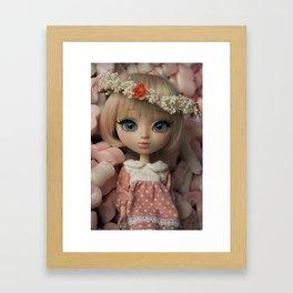 Innocent girl Framed Art Print