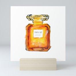 Fuck Off Perfume Mini Art Print