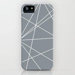 Prism Grey iPhone Case