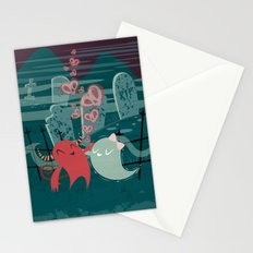 Demons are a Ghouls Best Fiend Stationery Cards