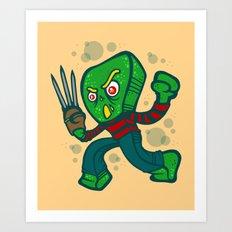 Gumby Krueger Art Print
