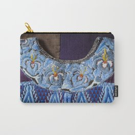 Guatemala - Hiupil of Flowers Carry-All Pouch