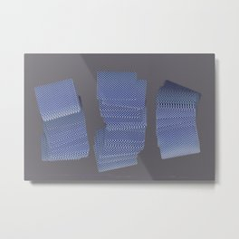 Solitaire Metal Print