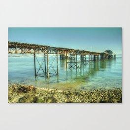 Mumbles Pier Canvas Print