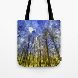 Fantasy Art Forest Tote Bag