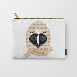 Mademoiselle Skunk Carry-All Pouch