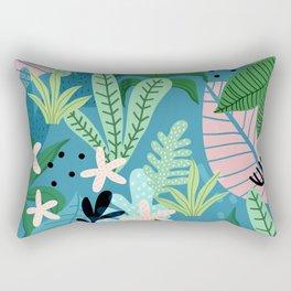 Into the jungle - twilight Rectangular Pillow