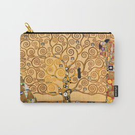 Gustav Klimt Tree Of Life Carry-All Pouch