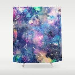 Cosmos Watercolor Shower Curtain