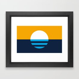 The People's Flag of Milwaukee Framed Art Print