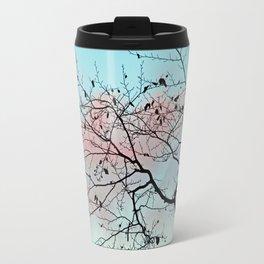 Pastel winter sky Travel Mug