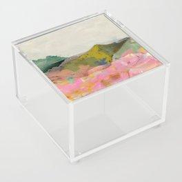 summer landscape Acrylic Box