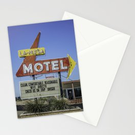 La-Mesa Motel Stationery Cards