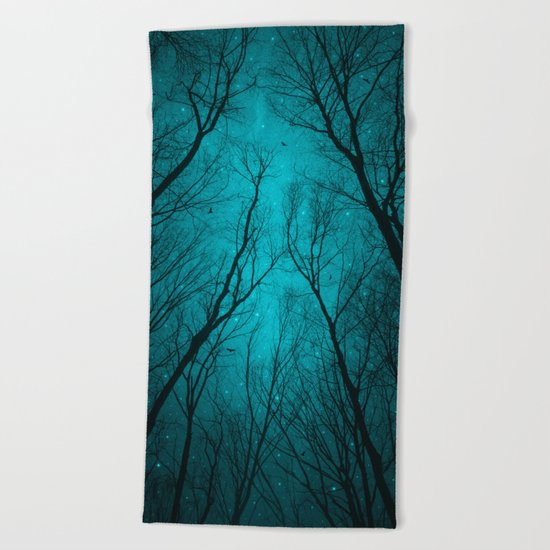 Endure the Darkness Beach Towel