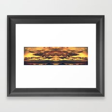 Endless Summit Framed Art Print