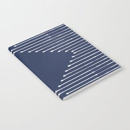 Geo / Navy Notebook