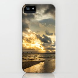Golden Summer Evening iPhone Case