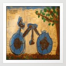 Riding Through Life Art Print