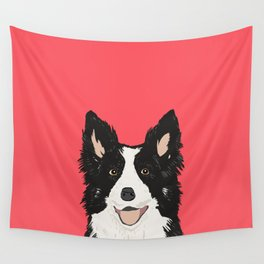Montana - Border Collie gifts for dog people and dog lovers perfect gifts for a dog person.  Wall Tapestry