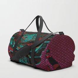 Soldier Predator Red Teal Duffle Bag