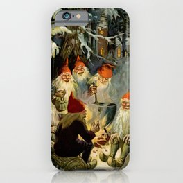 """""""Campfire Cooking"""" Tomten by Jenny Nystrom iPhone Case"""