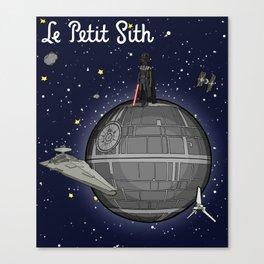 Le Petit Sith Canvas Print