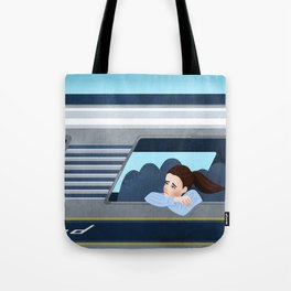 Ride to New York City Tote Bag