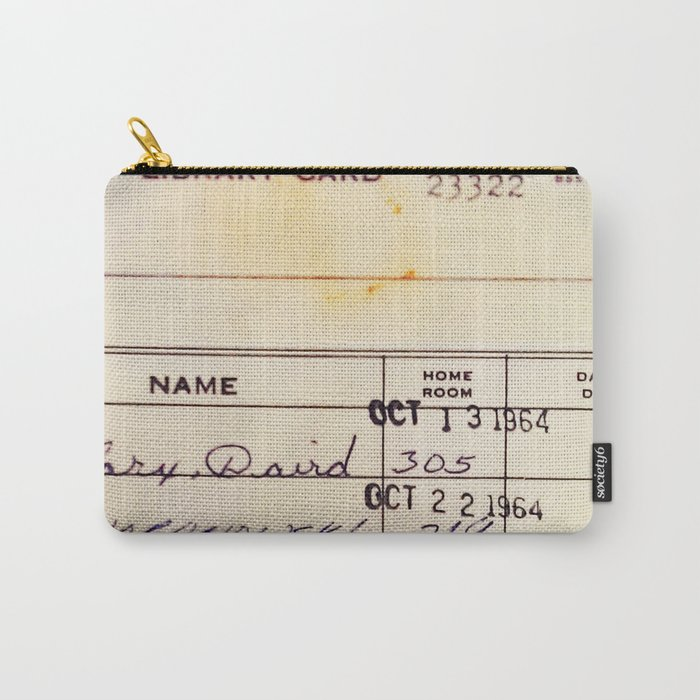 Library Card 23322 Carry-All Pouch