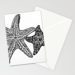 Seastars Stationery Cards