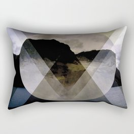 Hipster Hill Rectangular Pillow