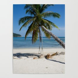 swing into paradise Poster