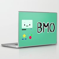 bmo Laptop & iPad Skins featuring BMO by Fynnit Art
