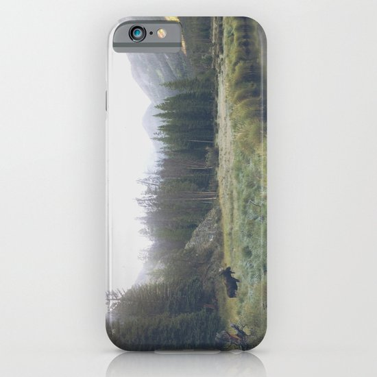 Morning Meadow Moose iPhone & iPod Case