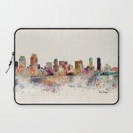 san diego skyline Laptop Sleeve