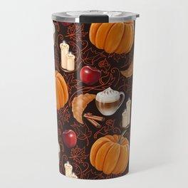Rustic Fall Travel Mug