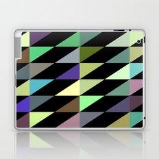 Tilted rectangles pattern Laptop & iPad Skin