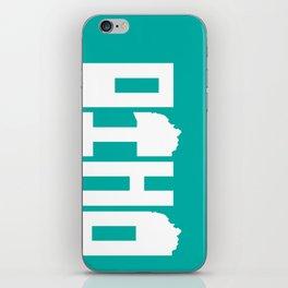 Ohio Type iPhone Skin