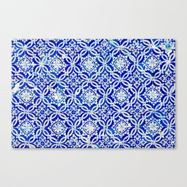 Azulejo Canvas Print
