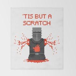 Monty Phyton black knight Throw Blanket