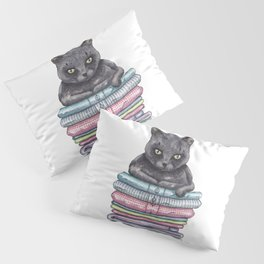 The Throne of the Cat Pillow Sham