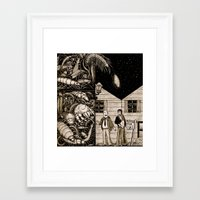 bugs Framed Art Prints featuring Bugs by The Art of Filippo Borghi
