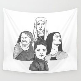 Women Doctors of the Church Wall Tapestry