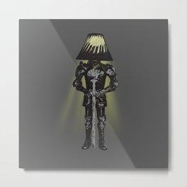 knight light Metal Print