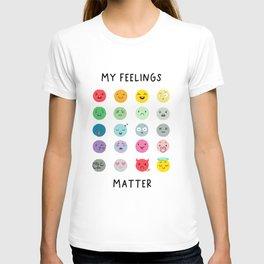 My Feelings Matter - Learning Prints T-shirt